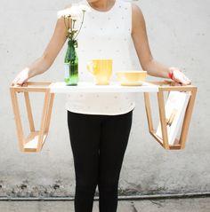 Mesa Poly by Veta - ideal para aquellos desayunos a la cama