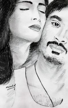 3 tamil movie poster pencil drawing