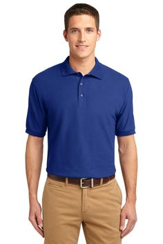 Polo Shirts With Pockets, Blue Polo Shirts, Pique Polo Shirt, Silk Touch, Blank T Shirts, Sports Shirts, Golf Shirts, Wholesale Clothing, Mens Tops
