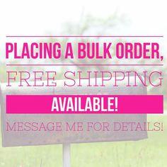 Free ship with bulk order Perfectly Posh, Younique, Mary Kay, Safe Nail Polish, Norwex Party, Fiber Lash Mascara, Facebook Party, Color Street Nails, Bulk Order