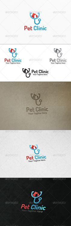 Pet Clinic - Logo Template