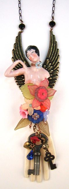 'Eclectic Angel' by Diane Hyde 2011