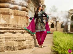 #Lohri #Fashion at its Best with #Patiala Elements