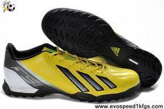 2013 New Yellow Black Green Zest Black Adidas F10 TRX TF Football Boots Shop