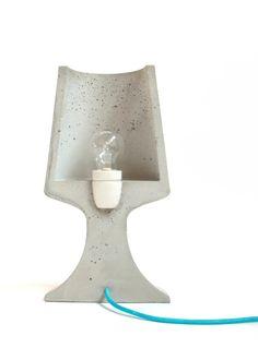 Crescent lamp by Troy Reugebrink