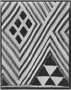Tufted textile, Belgian Congo