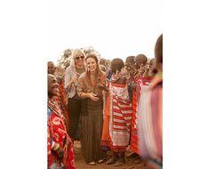 Catt Sadler Travels to Kenya with Raven + Lily