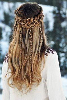 prueba esta nueva #tendencia en el #cabello #microbraids #Hairstyle #hair