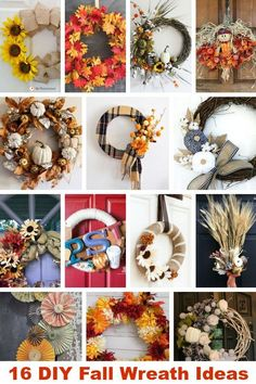 Style And Design Your Individual Enterprise Playing Cards In The Home Fall Wreath Ideas Complete With Tutorials So You Can Make Your Own. The most effective method to Make A Pretty Fall Wreath. Easy Fall Wreaths, Diy Fall Wreath, Fall Diy, Wreath Ideas, Diy Halloween Food, Halloween Home Decor, Fall Home Decor, Halloween Decorations, Fall Crafts