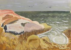Ocean With Gulls Artwork by Milton Avery Hand-painted and Art Prints on canvas…