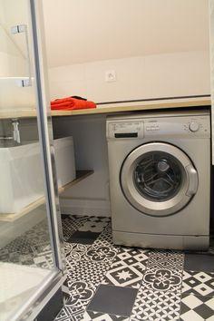 carrelage int rieur gatsby artens en gr s noir et blanc 20 x 20 cm d co pinterest gatsby. Black Bedroom Furniture Sets. Home Design Ideas