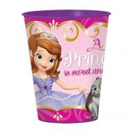 """Bestow gifts fit for royalty in this Sofia the First Favor Cup. Featuring Princess Sofia, her favorite forest friends, and """"A princess is sweet and loving"""" is fanciful script, the pink Sofia the First Plastic Favor Cup makes for a perfect finishing touch Sofia The First Birthday Party, First Birthday Parties, 3rd Birthday, Birthday Ideas, Halloween Trick Or Treat, Halloween Party Decor, Princess Sofia The First, Princess Party, Wholesale Halloween Costumes"""