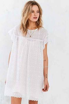 Little White Lies Pearl Dress - Urban Outfitters