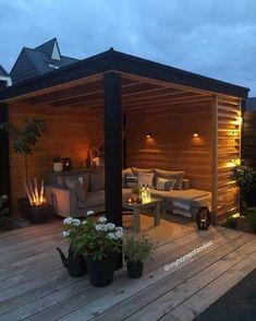 Backyard Seating, Backyard Patio Designs, Outdoor Pergola, Backyard Landscaping, Outdoor Patios, Outdoor Living, Patio Ideas, Gazebo, Backyard Layout