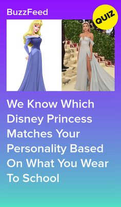 Get Dressed For School And We'll Reveal The Disney Princess That Matches Your Personality