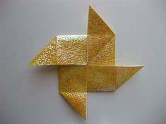 Origamituulimylly.