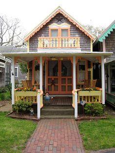 Martha's Vineyard Gingerbread Cottage by xbluegoox, via Flickr