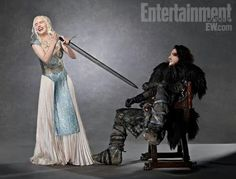 Khalessi & Jon Snow