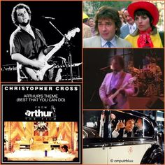 October 17, 1981 - Christopher Cross started a three week run at No.1 on the US singles chart with 'Arthur's Theme, (Best That You Can Do)', his second US No.1. and a No.7 hit in the UK.  The song was written in collaboration between Cross, pop music composer Burt Bacharach, and his frequent writing partner Carole Bayer Sager. A fourth writing credit went to Minnelli's ex-husband and songwriter Peter Allen, also a frequent collaborator with Bayer Sager.  - http://instagram.com/cmputrbluu