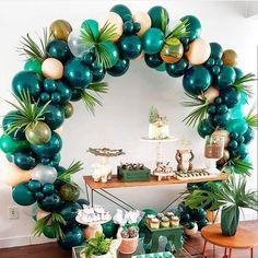 Plastic Balloons, Big Balloons, Wedding Balloons, Confetti Balloons, Balloon Arch, Birthday Balloons, 1st Birthday Parties, Birthday Party Decorations, 50th Birthday