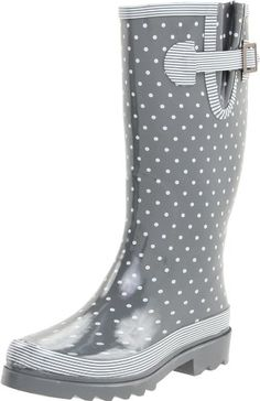Chooka Women's Classy Classic Rain Boot, Charcoal/White, 10 M US Chooka,http://www.amazon.com/dp/B003BTGU24/ref=cm_sw_r_pi_dp_Rjogsb0YJA6XKNHA