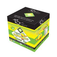 Touch Organic Mango Green Tea Cube-Touch Organic - Certified Organic Teas