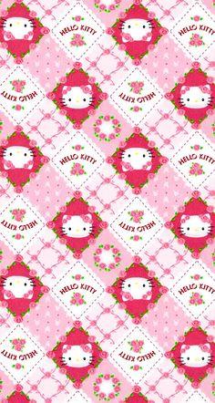Image by Daria Russ Kawaii Cute Wallpapers, Kawaii Wallpaper, Pink Wallpaper, Sanrio Wallpaper, Hello Kitty Clipart, Hello Kitty Themes, Hello Kitty Backgrounds, Hello Kitty Wallpaper, Happy New Year Wallpaper