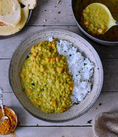 This healthy 1-pot lentil dal is creamy, satisfying and a great vegan comfort meal. The recipe is cooked in one pot and is very easy to make. #vegan #glutenfree #dal #lentildal #dhal #dahl #dinner #lunch #comfortfood | elavegan.com Lentil Recipes, Veggie Recipes, Lunch Recipes, Healthy Dinner Recipes, Indian Food Recipes, Vegetarian Recipes, Cooking Recipes, Free Recipes, Lentil Dal Recipe