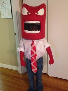 Creative Construction: Anger costume from Inside Out