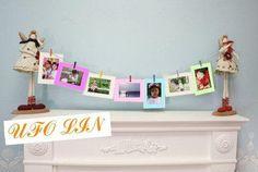 Transporte livre bonito colorido hang papel moldura conjunto/fina do álbum/livro picture frame/atacado