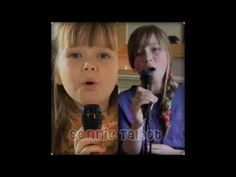 Connie Talbot Before and Now