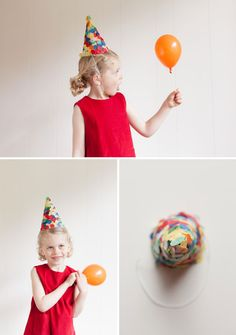 Confetti Party Hats DIY | Oh Happy Day!