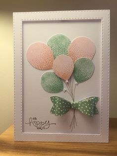 Stampin Up. Balloon Celebration