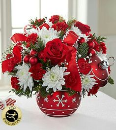 Boom Lue Orchid Bouquet Stems) (Usa Only) - Same Day Flower Christmas Flowers & Gift 2015 - Christmas Flowers 2015 - Christmas Gift Ideas - Christmas Holidays - Christmas Gift Baskets Christmas Flower- Christmas Plants- Christmas Gifts Ideas - Christma Christmas Flower Arrangements, Christmas Flowers, Christmas Centerpieces, Floral Arrangements, Christmas Holidays, Christmas Vases, Christmas Gifts, Easy Holiday Decorations, Holiday Ornaments