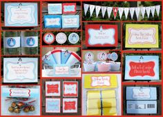 wizard of oz printable party invitation & collection for $15