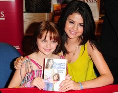 Pin for Later: Celebrate Selena Gomez's Birthday With a Look Back at Her Stunning Evolution July 2010 Selena and her Ramona and Beezus costar Joey King promoted the film together at a Miami meet-and-greet event. Ramona Books, Ramona And Beezus, Look At Her Now, Beverly Cleary, Selena Gomez Pictures, Joey King, Kissing Booth, Actors Images, Celebs