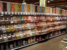 Rochester NY : Wegmans. So much candy!!! Lol! I <3 living in the ROC and having huge Wegman's stores! :)