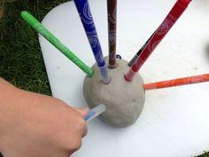 Clay - Hedgehog Felt Tip Pen Holder - Image 3 Pencil Holder, Pen Holders, Clay Projects, School Projects, Art For Kids, Hedgehog, Felt, Plastic, Google Search