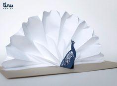 Pliage de papier japonais. Fait main.