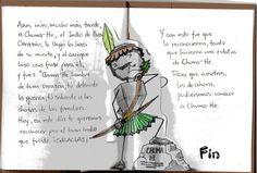 """""""El Indio de Buen Corazón"""" - Cuento PopUp Infantil: Alondon / Textos: Anabel Hoja 7"""