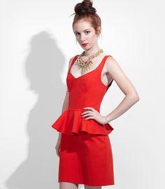 BB Dakota Minny Peplum Dress: NOW $49.99! (was $80)