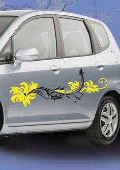 Make your car look pretty, with this easy-to-apply FLORAL CAR DECAL, available only on http://www.gloob.in/decals/floral.html    Gloob car decals are made from ultra-thin self-adhesive vinyl film, and are extremely cost effective substitutes to paints and car graphics!
