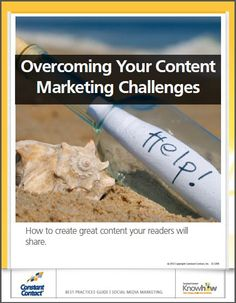 Overcoming Your Content Marketing Challenges