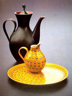 blushingcheekymonkey:  eva zeisel - dinnerware for mancioli (c....