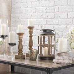 Set the mood for your entire home with a candle-lit welcome in your entryway. From candlesticks to lanterns, we've got everything you need to get your glow on.