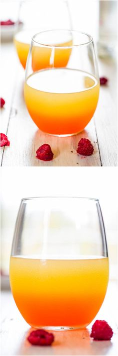 Lightened-Up Raspberry Coconut Punch - Sweet, tangy, refreshing and isn't a caloric lead balloon! But don't worry, it still packs a punch!