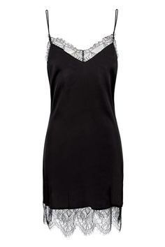 The slip is this season's dress. A very sexy one at that. £25.99 at Zara.com.