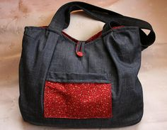 Denim tote | Flickr - Photo Sharing!