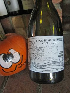 Another great Arizona red wine blend!  Page Springs Cellars always delivers.  Perfect wine for fall foods.