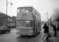 5 to Castlemilk on Castlemilk Road, Glasgow (February Glasgow Architecture, Picture Boards, Glasgow Scotland, Busses, Transportation, Trucks, Memories, Black And White, City